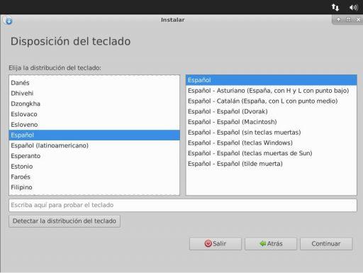 Ubuntu Studio 18.04 disposición del teclado
