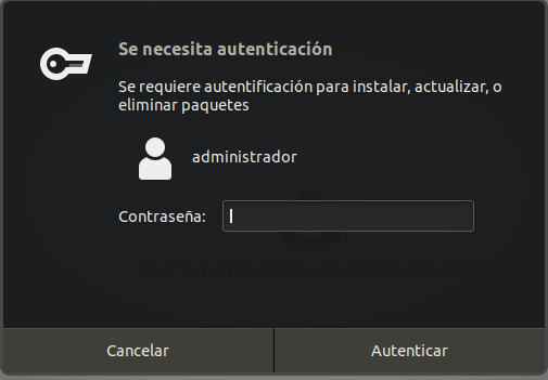 Credenciales instalación ubuntu