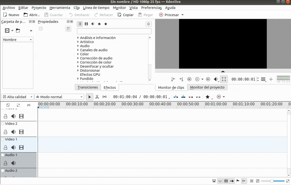 Instalar kdenlive en ubuntu 18 _05