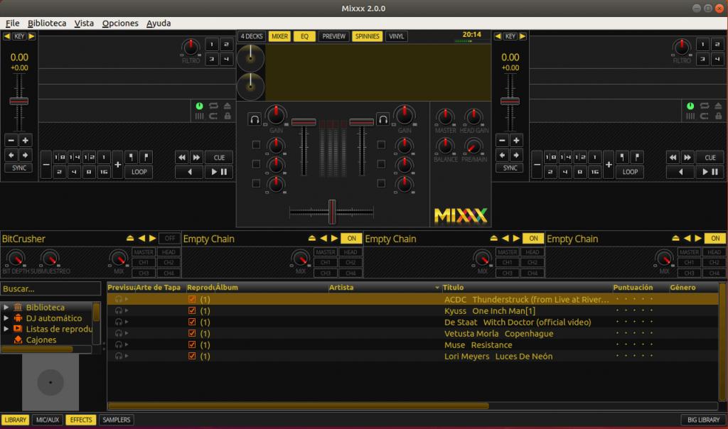 MIXXX DJ UBUNTU 18.04 INSTALAR 04