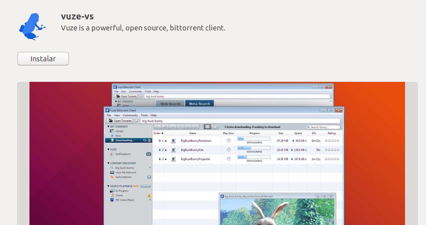 instalar vuze en ubuntu