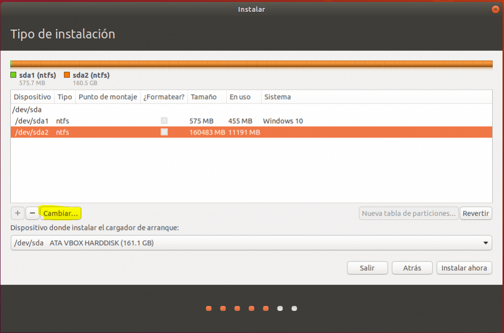 instalar ubuntu junto a windows 10 _ particion_01