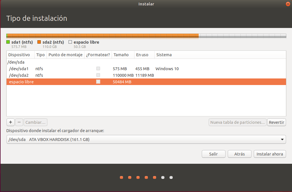 instalar ubuntu junto a windows 10 _ particion_03