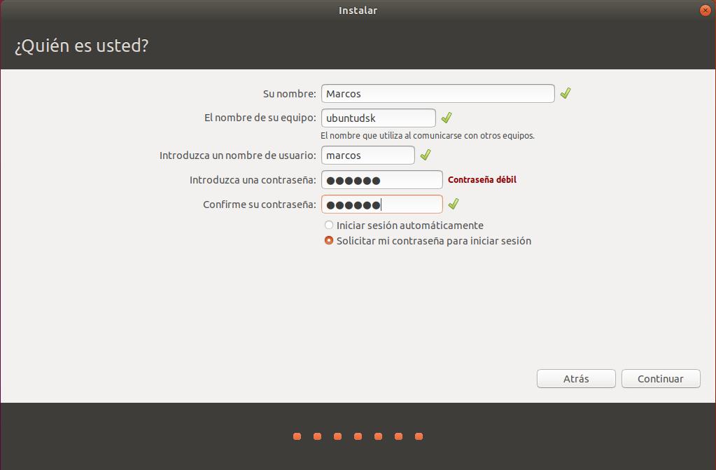 instalar ubuntu junto a windows 10 _ quien es usted