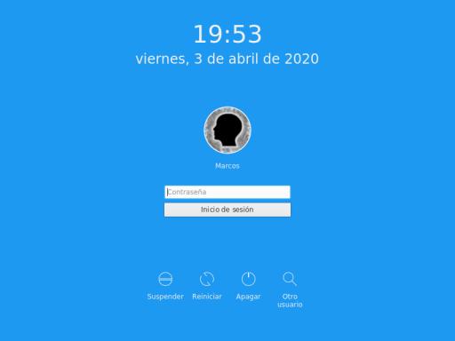 INSTALAR LINUX MINT 18.3 KDE PANTALLA INICIO