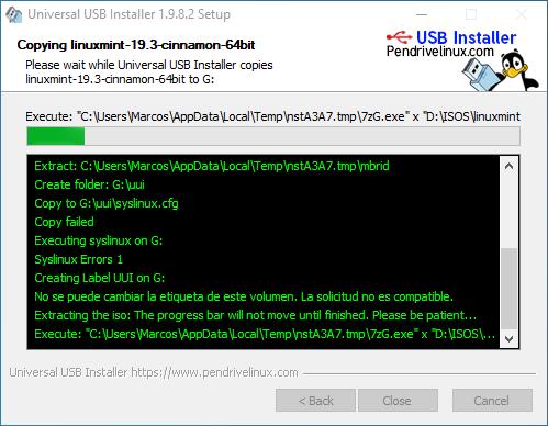 INSTALAR LINUX MINT DESDE USB